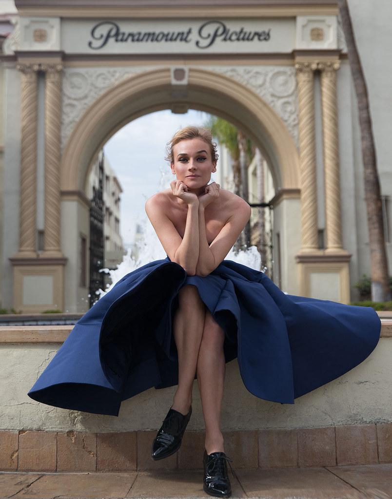 Диана Крюгер — Фотосессия для «Violet Grey» 2015 – 5
