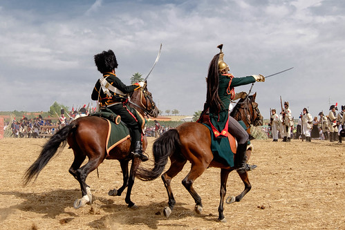 Recreación de la Batalla de Bailén - Carga de la caballería