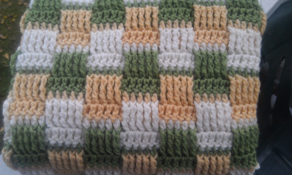 Basketweave Baby Blanket