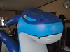 Inflatable Blue Zenith Dragon by SpacetimePSD