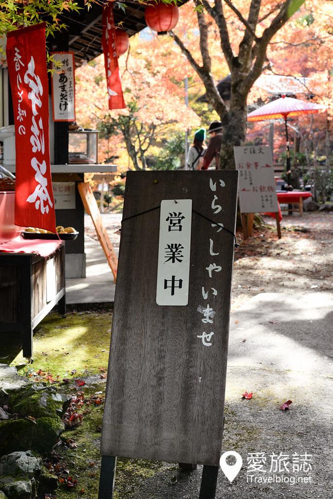 京都赏枫景点 神护寺 高雄茶屋 02