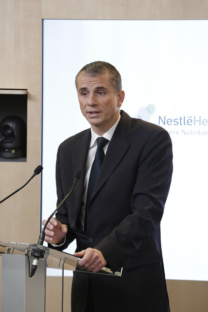 Greg Behar, CEO Nestlé Health Science
