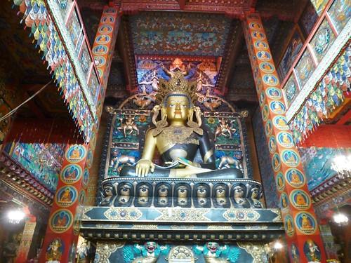 CH-Litang-Chode Gompa-Monastère (4)