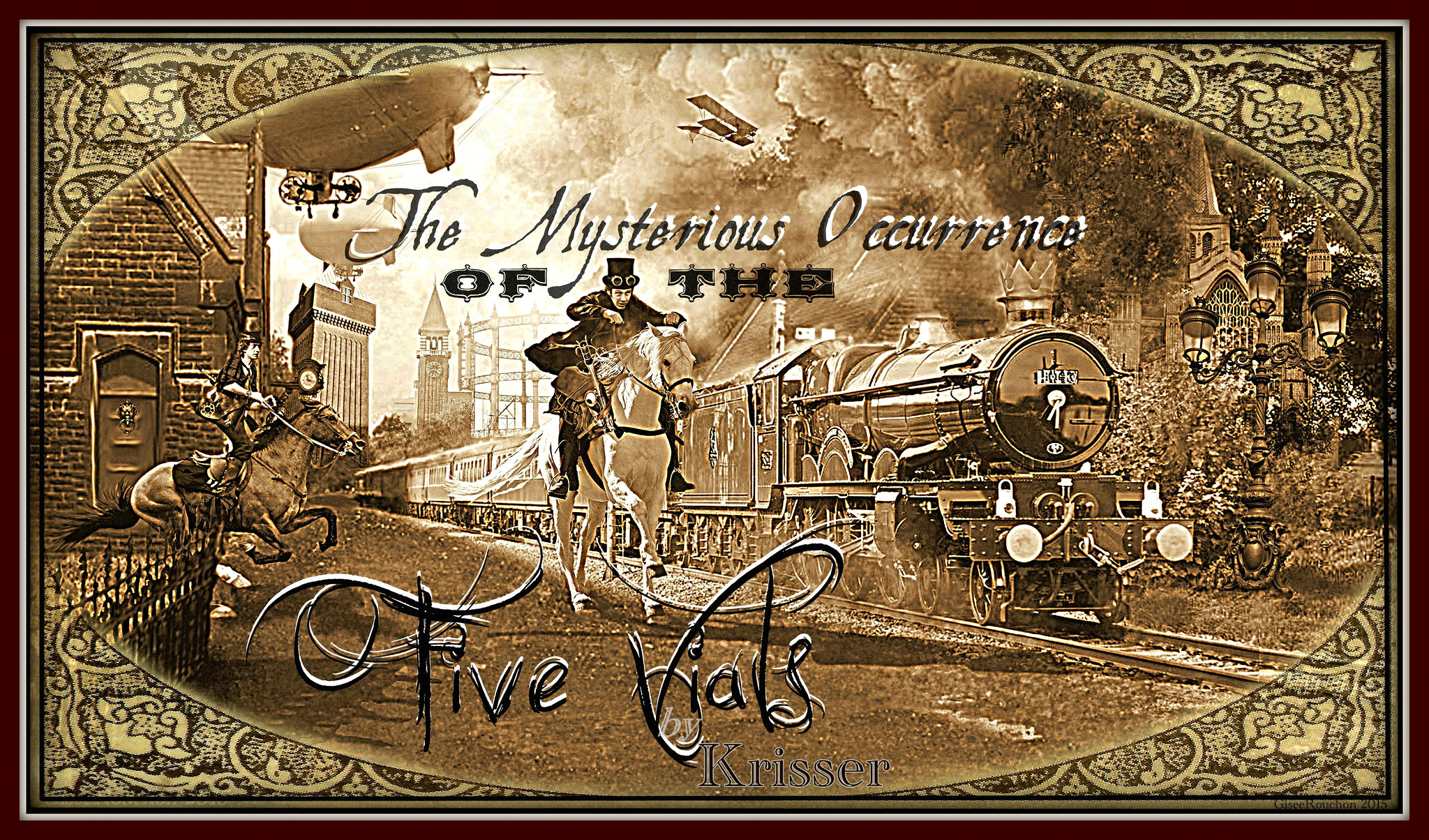 Cover for '..Five Vials' by Krisser