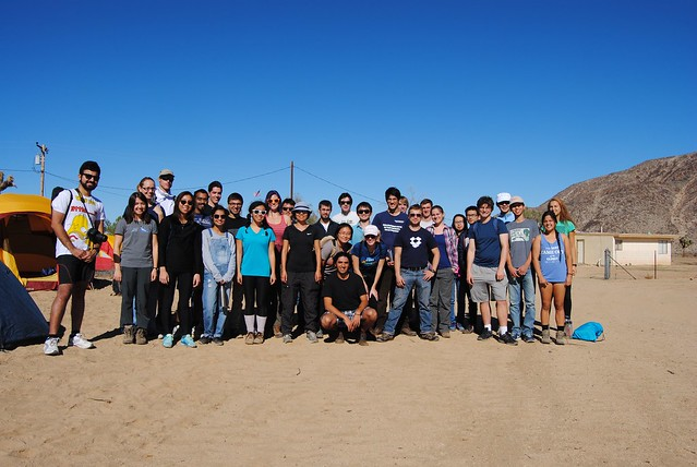 2015.11.08 - Caltech OSA trip to GMARS