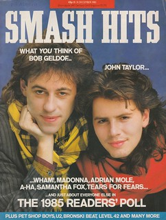 Smash Hits, December 18, 1985 – p.01