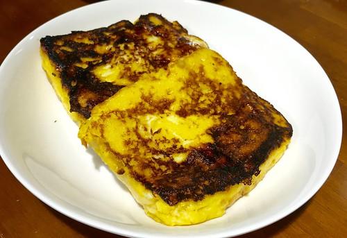 金の食パンでフレンチトーストがおいしくできた