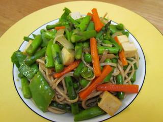 Stir-Fried Noodles with Spring Vegetables