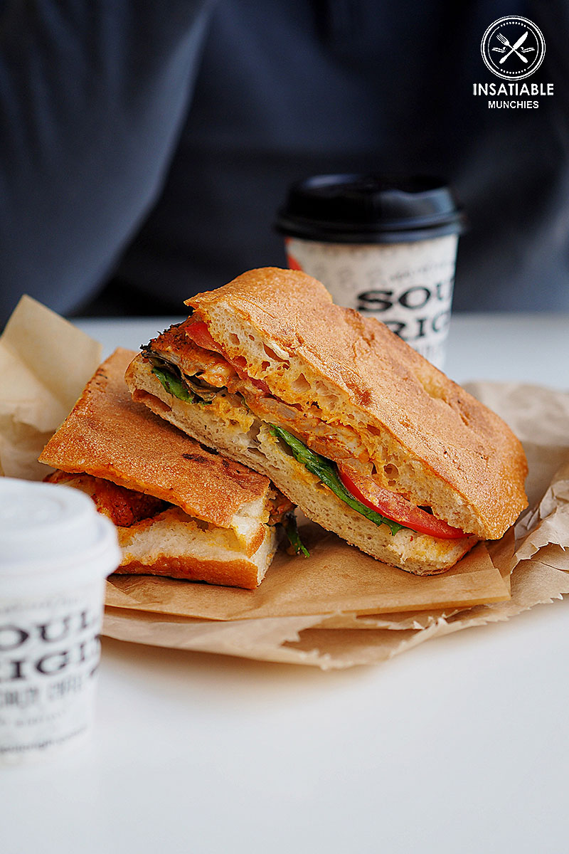 Achiote Chicken Panini, Soul Origin, Rhodes: Sydney Food Blog Review