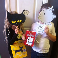 Book character day / last minute homemade costume day!!!!!! :wink: