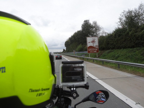 On the road (E59) from Graz (Austria) to Maribor (Slovenia)...