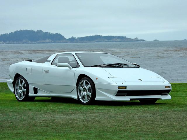 Lamborghini P140 1989. Прототип, предшествовавший серийному Lamborghini Diablo