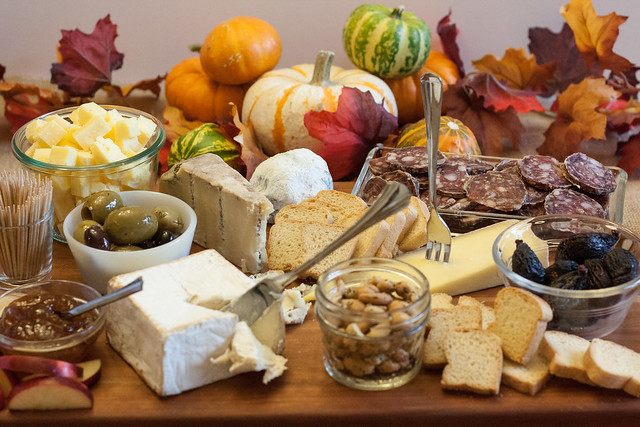 Tips for setting up the perfect cheese and charcuterie board. Use this recipe to build a cheese platter that's simple to make, looks stunning, and tastes out of this world!