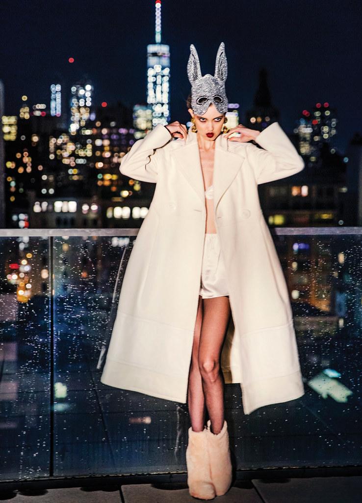 Линдси Виксон — Фотосессия для «Vogue» KR 2015 – 3