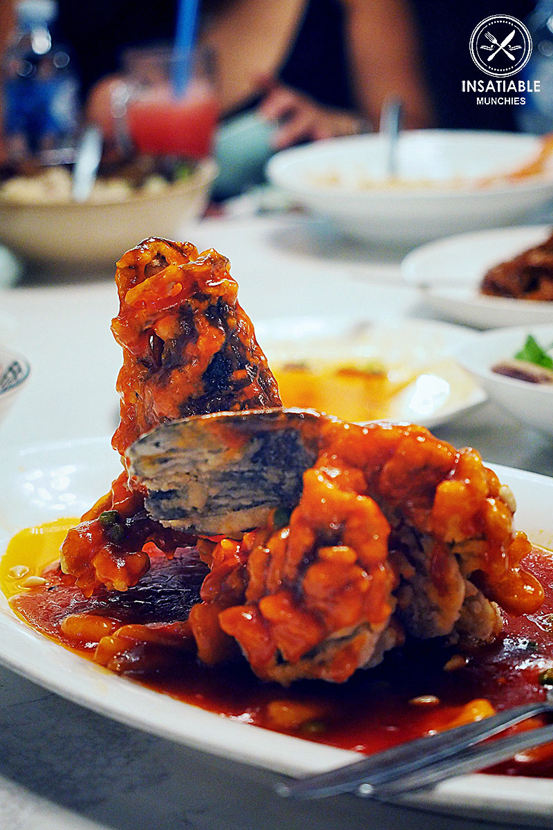 Barramundi in Sweet & Sour Sauce, Taste of Shanghai, World Square. Sydney Food Blog Review