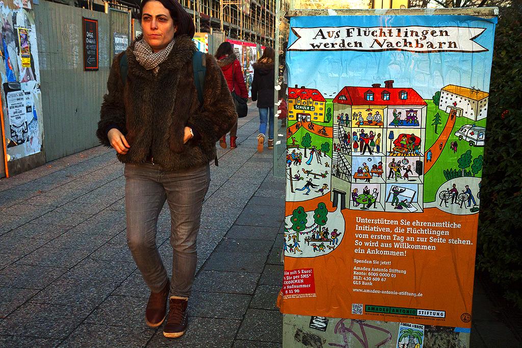 Aus Fluchtlingen werden Nachbarn--Berlin