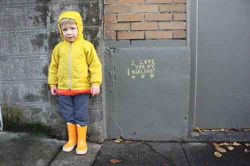 Love Graffiti, SE 26th and Clinton, Portland