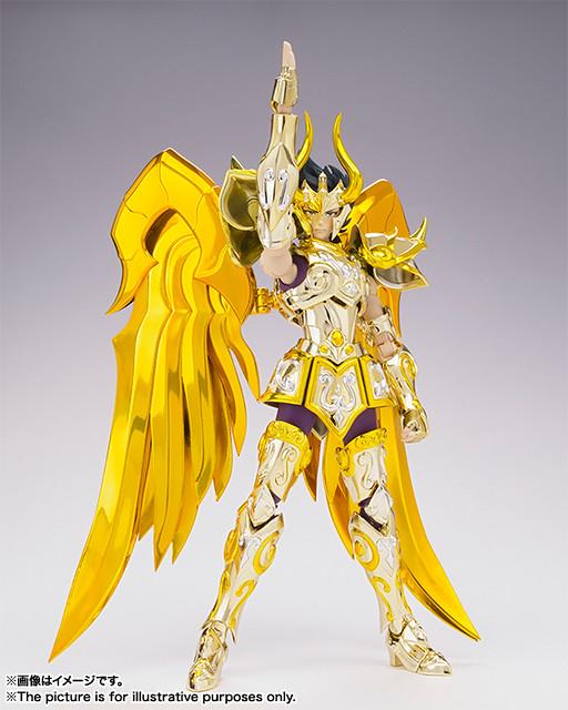 聖闘士聖衣神話EX 黃金聖闘士摩羯座 修羅(神聖衣)