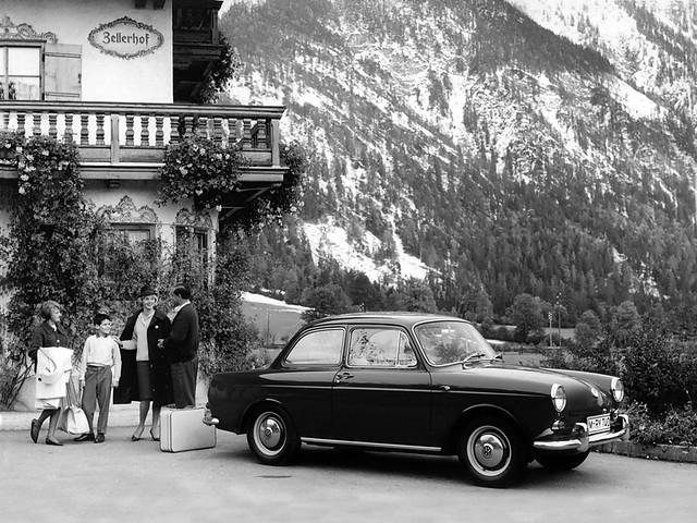Volkswagen 1500 Limousine (Typ 3). 1961 – 1965 годы
