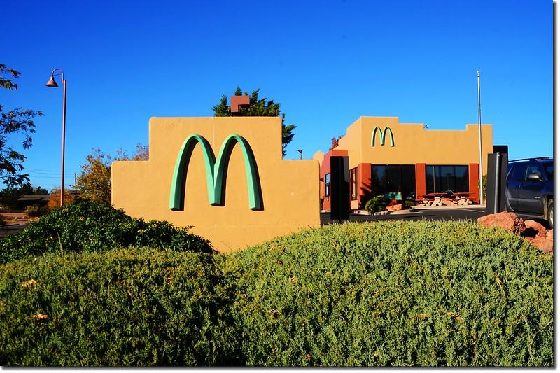 McDonalds at Sedona, AZ