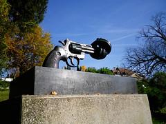 Non-violence memorial near Olympic Park