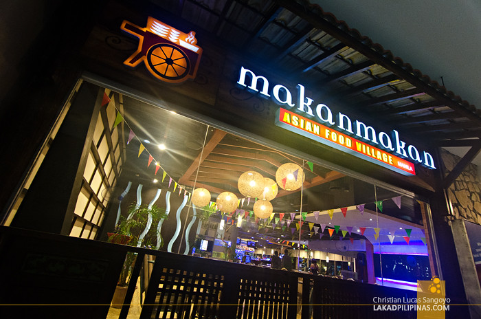 Hotel H2O Makan Makan Manila