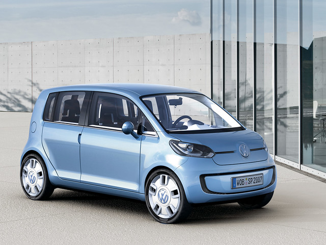 Volkswagen space up! Concept. 2007 год