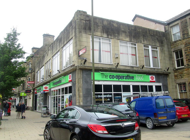 Buxton Art Deco Co-op from right
