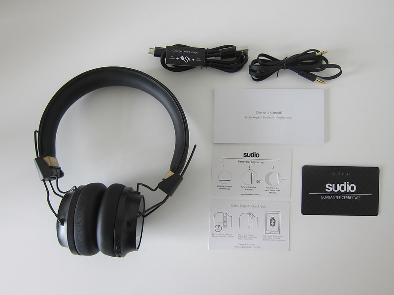 Sudio Regent - Box Contents