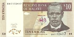 Malawi - 10 Kwacha - P-44c (2004)