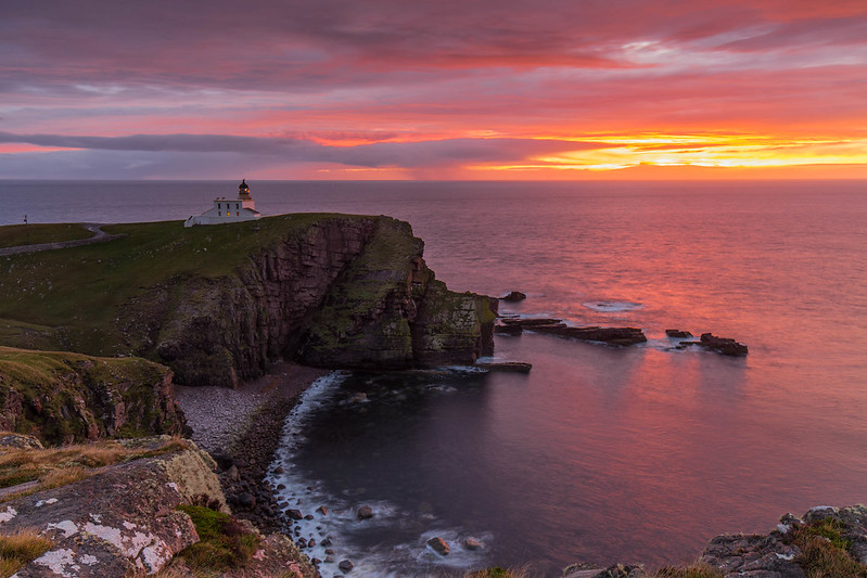 A Lighthouse Sunset ..