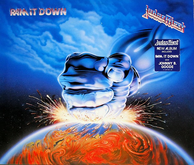 "JUDAS PRIEST RAM IT DOWN 12"" VINYL LP"