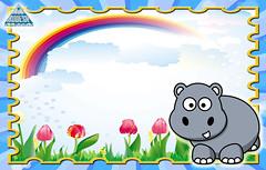 gafete hipopotamo