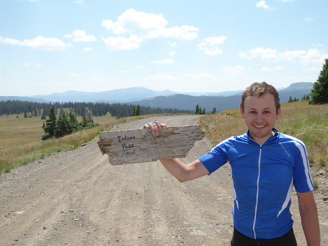 Indiana pass, the highest point on the Divide route