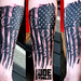A #blackandgray #americanflagtattoo done yesterday! #artbyjoewinkler #eliteinktattoos #myrtlebeach #sc #tattoos #tattooapprentice #dynamicink #oneink #dankubinrotary  #mithraneedles #americanflag #abstract #molonlabe