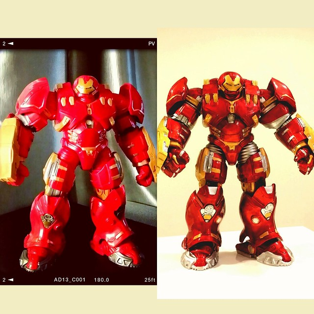#marvellegends #hulkbuster #buildafigure #baf #custom #paint #citadelpaints #tamiyapaint #geekyactivity