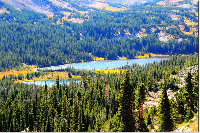 Mitchell Lake from the Mount Audubon Trail 2