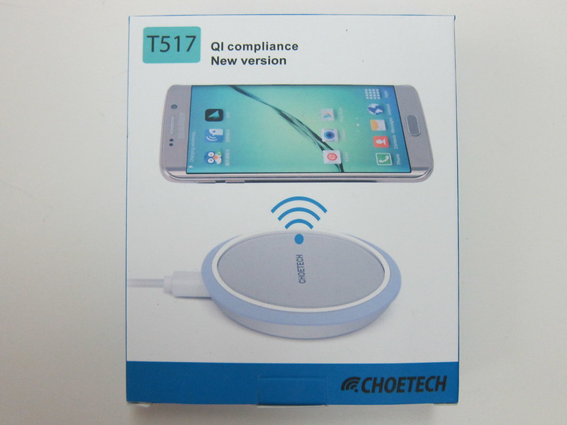 Choe Circle Qi Wireless Charger - Box Front