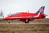 Royal Air Force British Aerospace Hawk T.1A of the Red Arrows 'XX325' LMML by Chris_Camille
