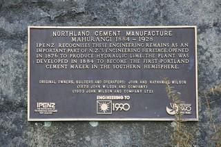 Cement works görüntü. newzealand wilsonroad greaterauckland warkworthcementworksruinsrodney