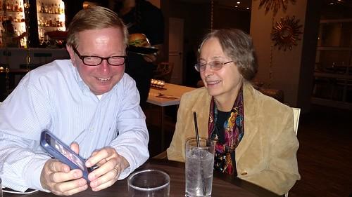 Tom Uram and Jeanne Stevens-Sollman 10/6/2015