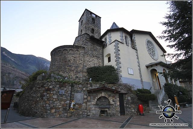 Iglesia de San Esteve, Andorra La Vella. Andorra.