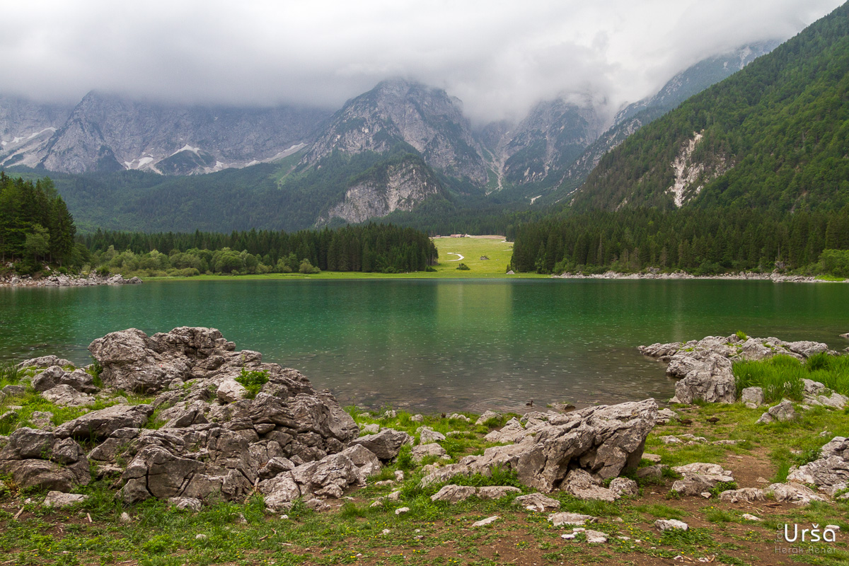 Mangartska jezera