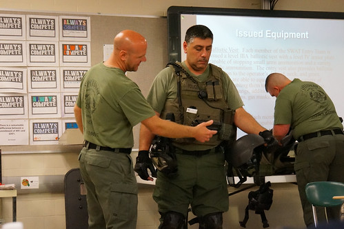 6th Speedway PD Citizens Academy - SWAT