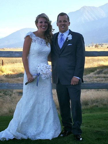 Aimee and Dan Hackworth - all hitched!