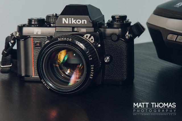 Nikon F3 w/ 50mm f/1.2 AIS