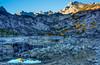 Sabrina Lake of California's Eastern Sierra by Beau Rogers