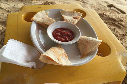 Quesadilla @ Sosua beach