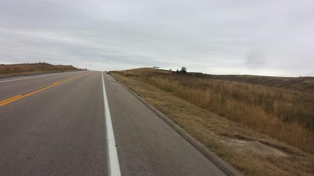 Nebraska countryside hilltop art