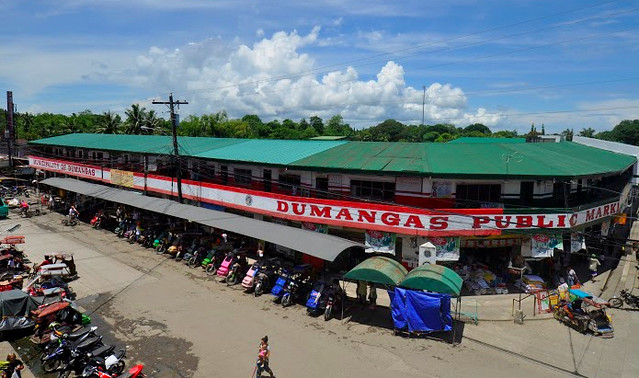 Dumangas Public Market - Aerial photo